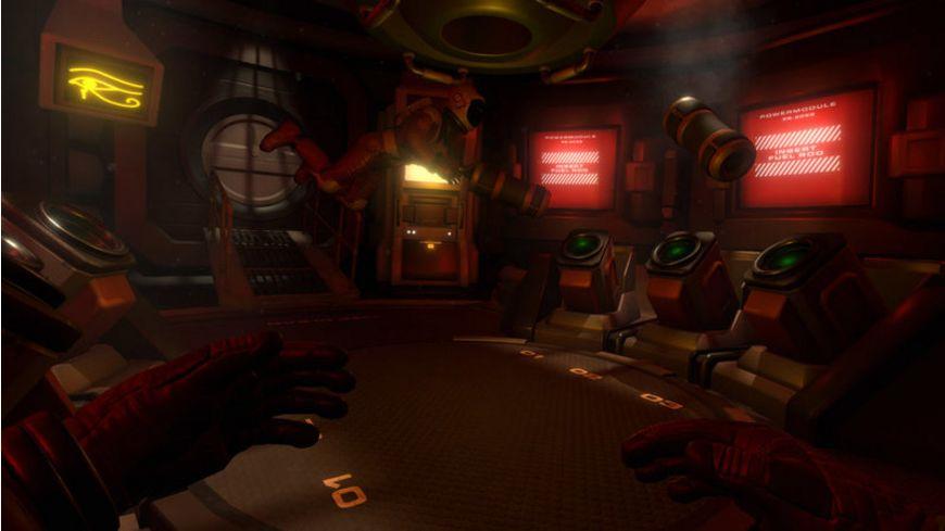 Downward Spiral Horus Station PlayStation VR