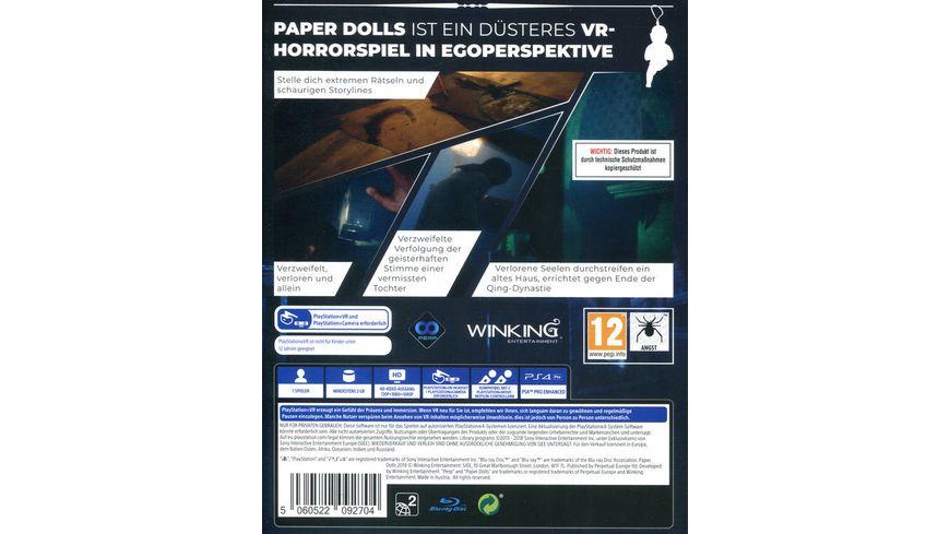 Paper Dolls PlayStation VR