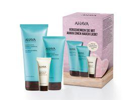 AHAVA SeaKissed Set Handcream ShowerGel Tagescreme