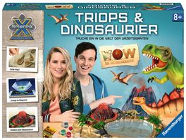Ravensburger Beschaeftigung ScienceX WOW Triops Dinosaurier