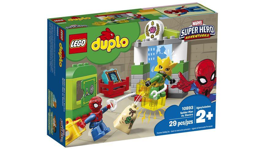 LEGO DUPLO 10893 Spider Man vs Electro