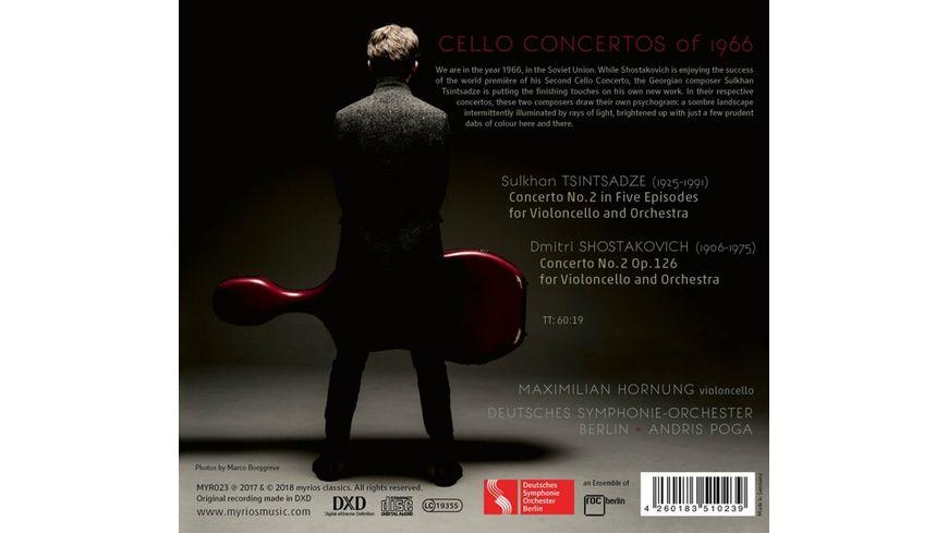 Cellokonzerte 1966