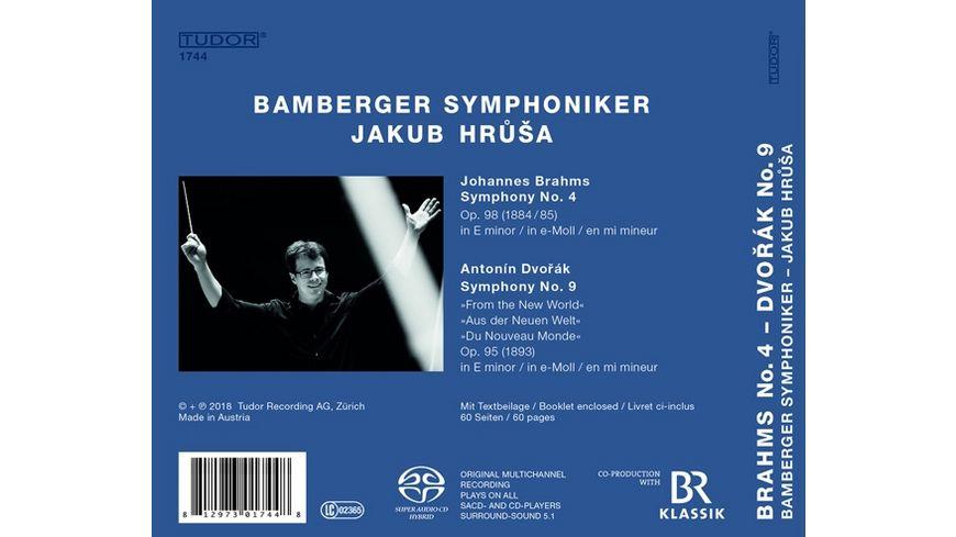 Sinfonie 4 Brahms Sinfonie 9 Dvorak