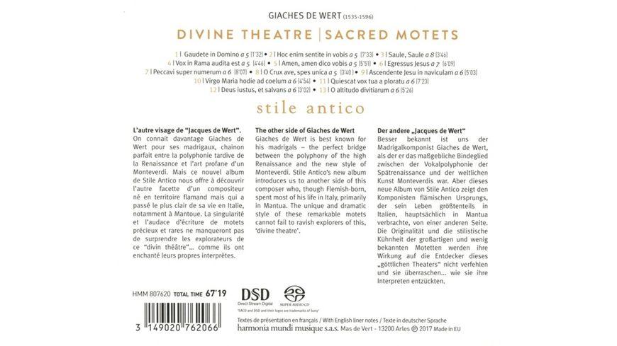 Divine Theatre Geistliche Motetten