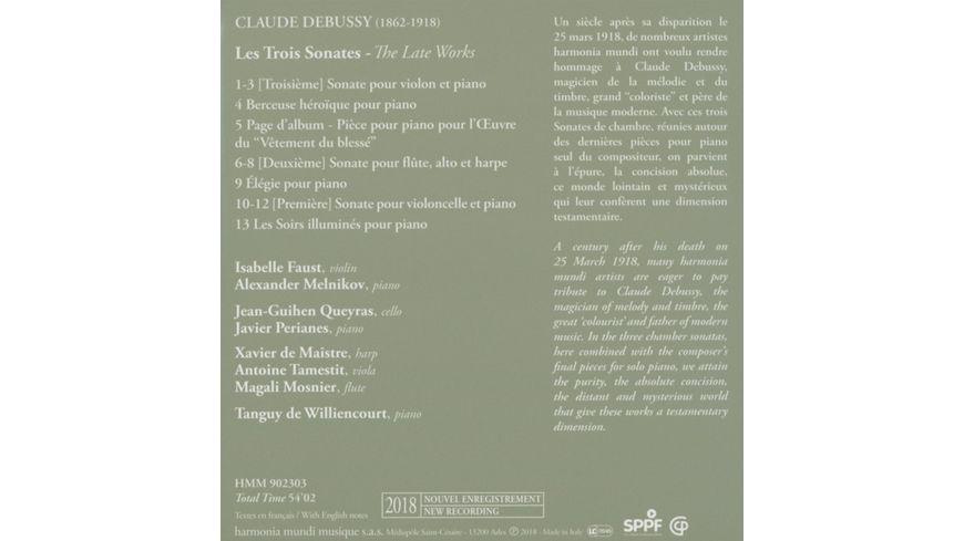 Les Trois Sonates Das Spaetwerk