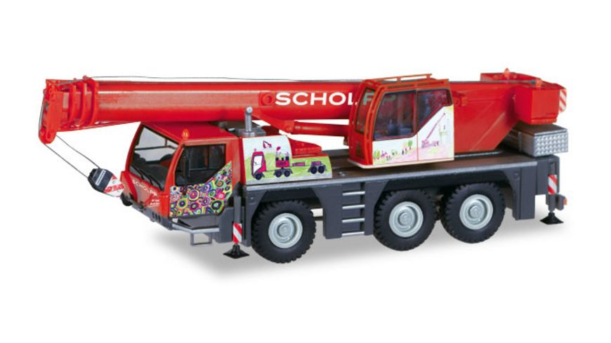 Herpa 309110 Liebherr Mobilkran LTM 1045 1 Scholpp Kinderkran