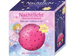 Die Spiegelburg Nachtlicht Sternenhimmel Prinzessin Lillifee