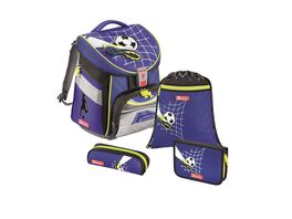 Step by Step Schulranzen Set 4teilig Comfort Top Soccer
