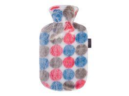 fashy Waermflasche 2 0 L mit Flauschbezug