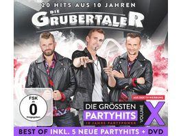 Die Grubertaler Das Beste aus 10 Jahren Party Vol 10