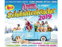 DJ Gerry s Apres Schihuettenkracher 2019 4CD