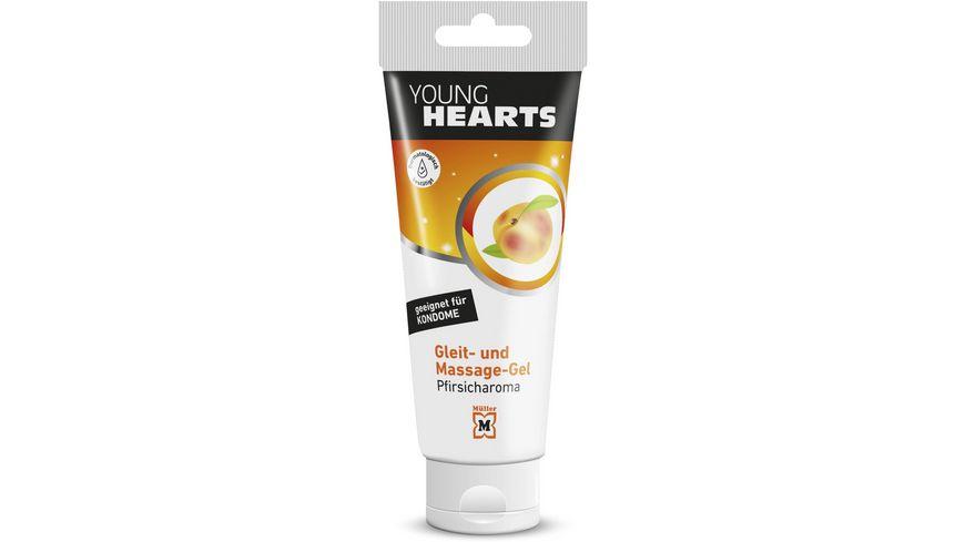 YOUNG HEARTS Gleitgel Peach