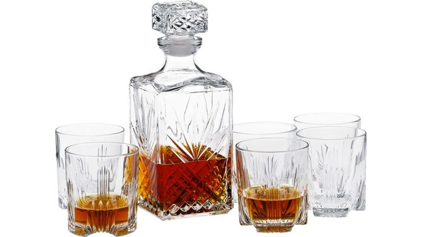 Selecta Whiskey Set 7 teilig