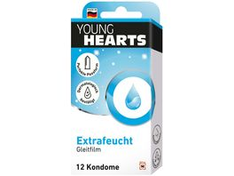 YOUNG HEARTS Kondome Extrafeucht