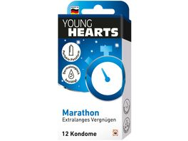 YOUNG HEARTS Kondome Marathon 12 Stueck
