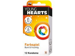 YOUNG HEARTS Kondome Farbenspiel