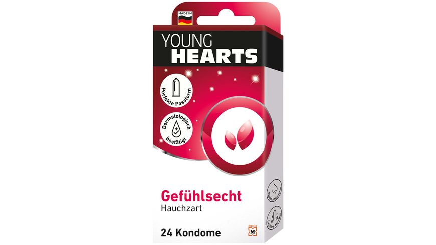 YOUNG HEARTS Kondome Gefühlsecht online bestellen | MÜLLER