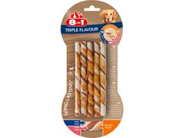8in1 Triple Flavour Twisted Sticks 10 Stueck