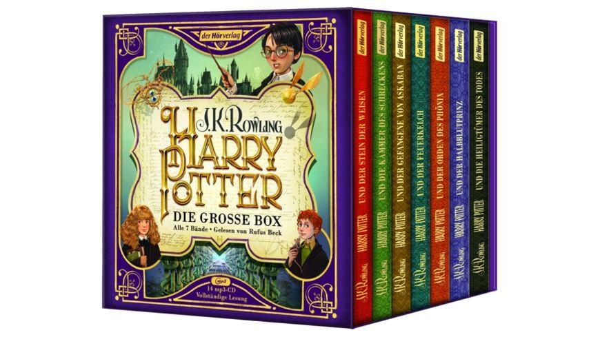 Harry Potter Die grosse Box zum Jubilaeum Alle 7 B