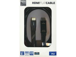 PS4 HDMI Kabel 1 4 3D Flat Cable 3 Meter