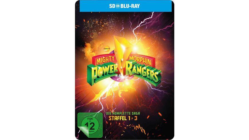 Power Rangers Mighty Morphin Season 1 3 Die komplette Serie SD on Blu ray