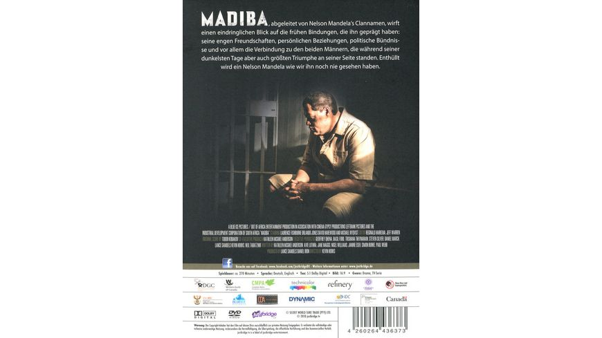 MADIBA 2 DVDs