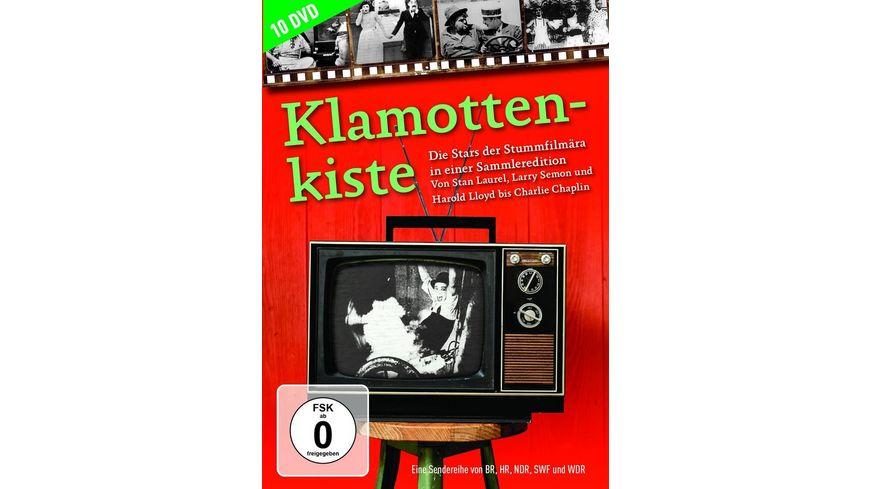Klamottenkiste Die Stars der Stummfilmaera in einer Sammleredition 10 DVDs