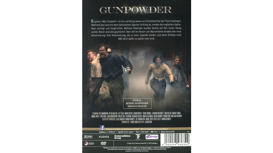 Gunpowder Die Event Serie 2 DVDs