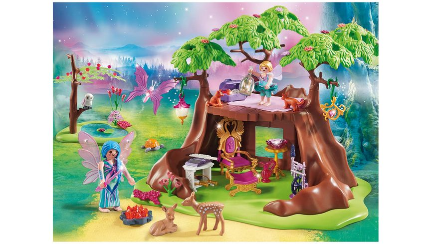 PLAYMOBIL 70001 Fairies Waldfeenhaus