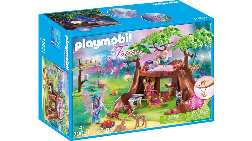 PLAYMOBIL 70001 Fairies Waldfeenhaus