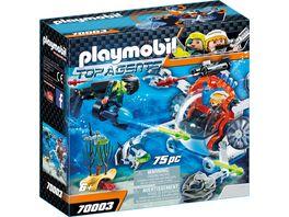 PLAYMOBIL 70003 Top Agents Spy Team Sub Bot