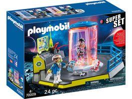 PLAYMOBIL 70009 Space SuperSet Galaxy Police Gefaengnis