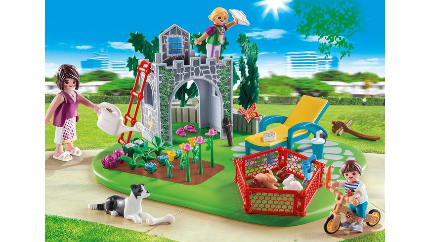 PLAYMOBIL 70010 SuperSet SuperSet Familiengarten