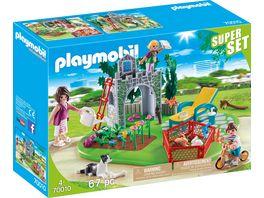 PLAYMOBIL 70010 Country SuperSet Familiengarten