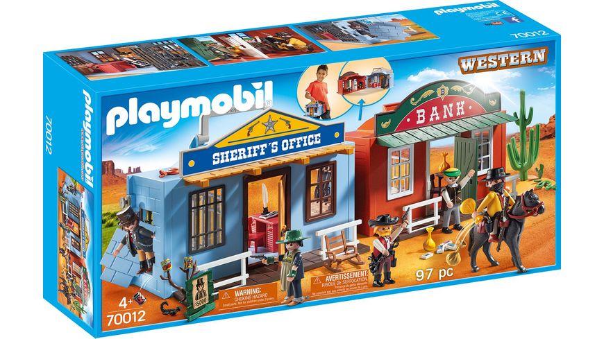 PLAYMOBIL 70012 Western Mitnehm Westerncity