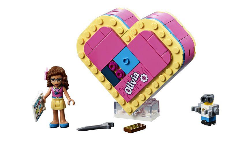 LEGO Friends 41357 Olivias Herzbox