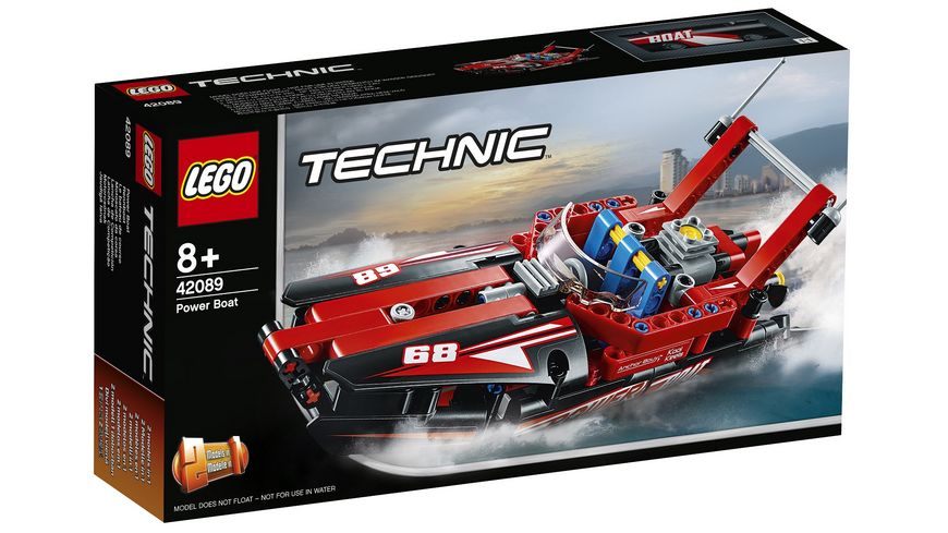 LEGO Technic 42089 Rennboot