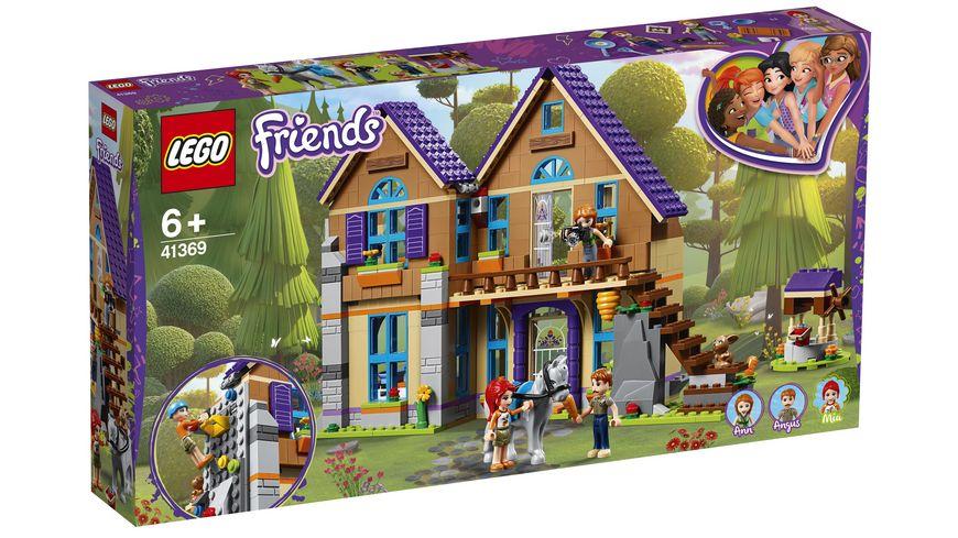 LEGO Friends 41369 Mias Haus mit Pferd