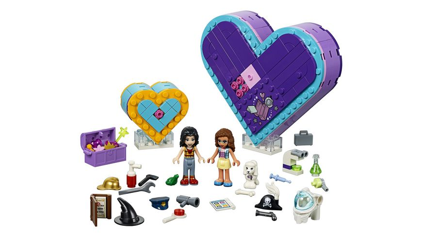 LEGO Friends 41359 Herzbox Freundschaftsset