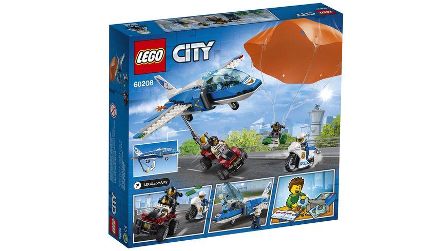 LEGO City 60208 Polizei Flucht mit dem Fallschirm