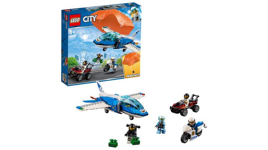 Lego City Police 60208 Polizei Flucht Mit Dem Fallschirm Online