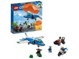 LEGO City Police 60208 Polizei Flucht mit dem Fallschirm
