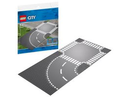 LEGO City 60237 Kurve und Kreuzung