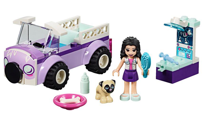 LEGO Friends 41360 Emmas mobile Tierarztpraxis