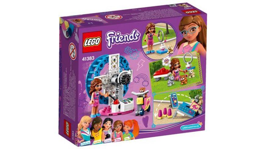 LEGO Friends 41383 Olivias Hamster Spielplatz