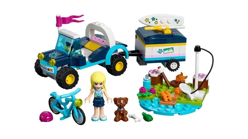 LEGO Friends 41364 Stephanies Cabrio mit Anhaenger
