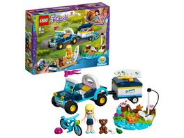 LEGO Friends 41364 Stephanies Cabrio mit Anhaenger