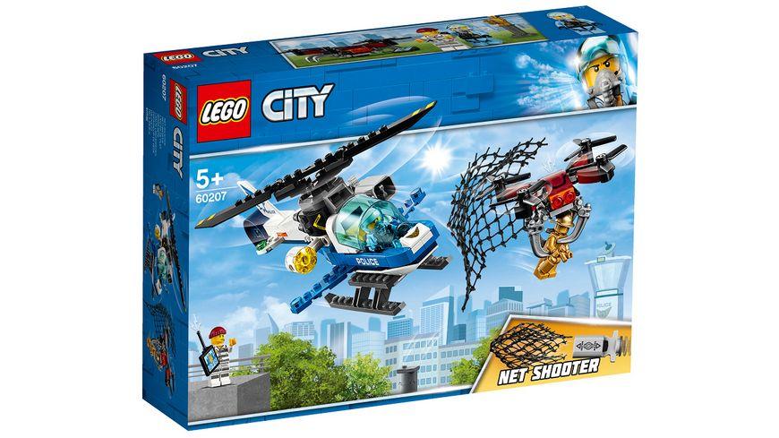 LEGO City Police 60207 Polizei Drohnenjagd