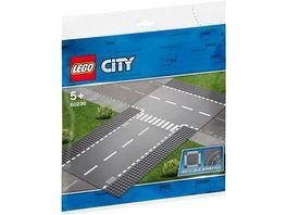 LEGO City 60236 Gerade und T Kreuzung
