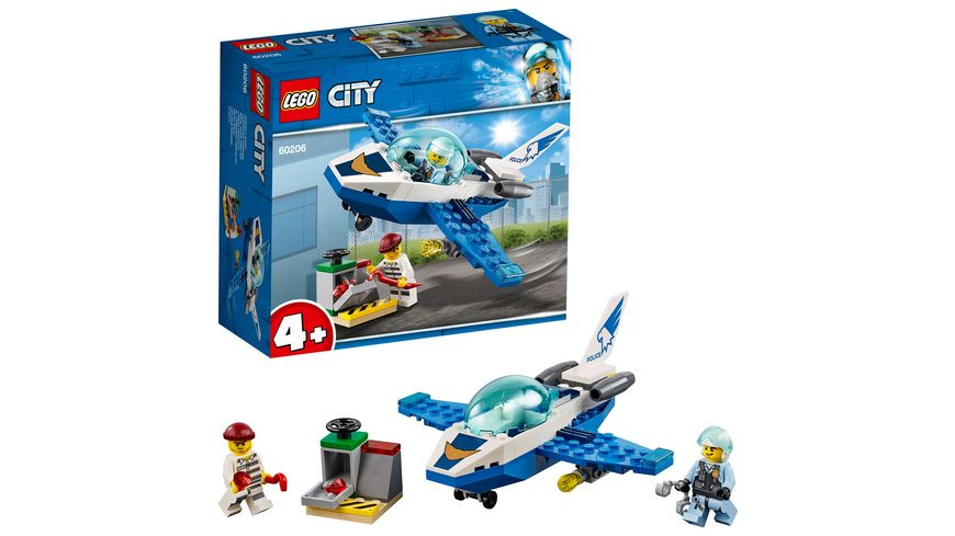 Lego City Police 60206 Polizei Flugzeugpatrouille Online Bestellen